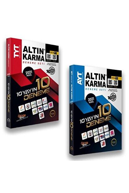 Altın Karma Yayınları Altın Karma 2021 Tyt Ayt 10 Farklı Yayın 10 Deneme Seti