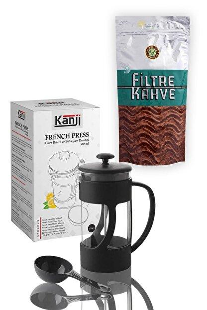 Kahve Dünyası 250 G Filtre Kahve 350 ml Kanji French Press Hediyeli