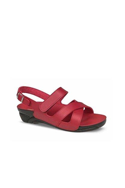 Ceyo Kadın Kırmızı Sandalet ( Venedik-8)