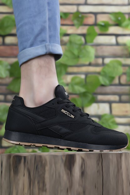 Riccon Siyah Siyah Unisex Sneaker 0012853