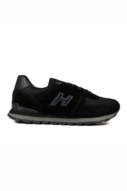 Hammer Jack Unısex Siyah Bağcıklı Hakiki Deri Spor Ayakkabı 07 19250_1