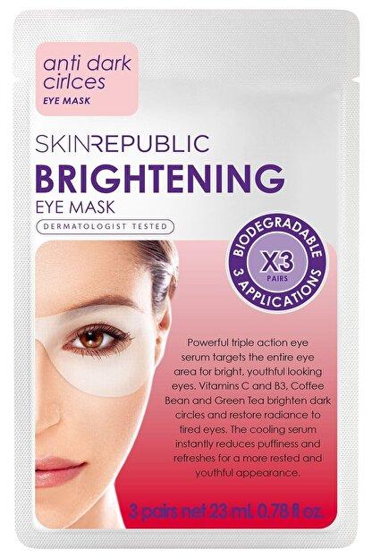 Skin Republic Brightening Eye Mask 3 Pairs 23ml