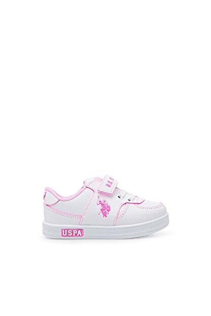 US Polo Assn CAMERON 1FX Beyaz Kız Çocuk Sneaker 100909733