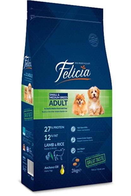 Felicia Az Tahıllı  Yetişkin Kuzulu Small Mini Hypoallergenic Köpek Maması 3 kg