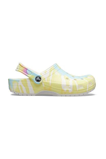 Crocs Renkli Kadın Classic Tie Dye Graphic Clog Terlik