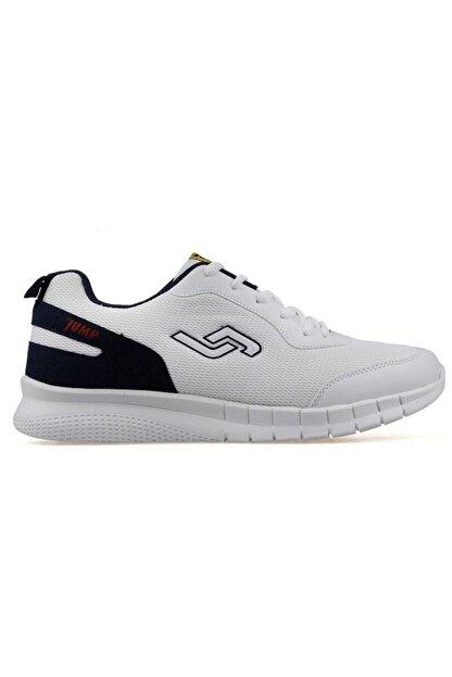 Jump 21049 Beyaz - Lacivert Erkek Spor Ayakkabı