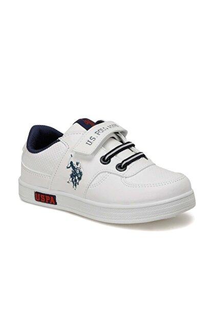 US Polo Assn Erkek Çocuk Beyaz Sneaker 100909787