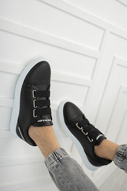 Dunlop Erkek Siyah Lastikli Spor Ayakkabı 1207