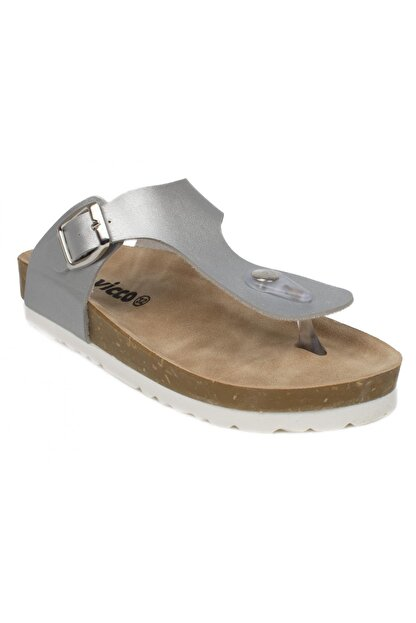 Vicco 321.f21y166 Ponny Filet Gümüş Kız Çocuk Sandalet