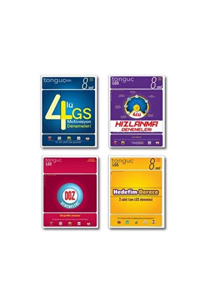 Tonguç Akademi 8. Sınıf Lgs Deneme Set 4 Kitap 2021 Hızlanma Derece Doz Motivasyon Tonguç