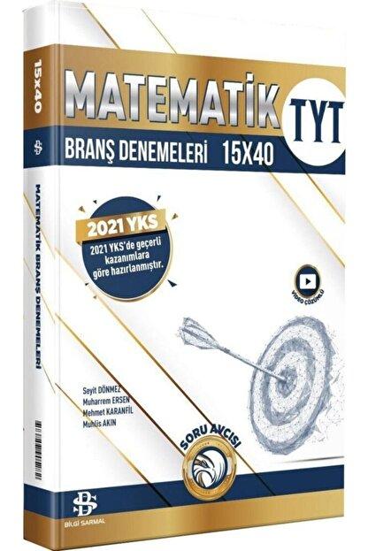 Bilgi Yayınları Tyt Matematik 15 X 40 Branş Denemeleri Bilgi Sarmal Yayınları