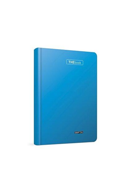 Gıpta The Book 20x28 200 Yaprak 4 Bölmeli Ciltli Defter Çizgili Mavi