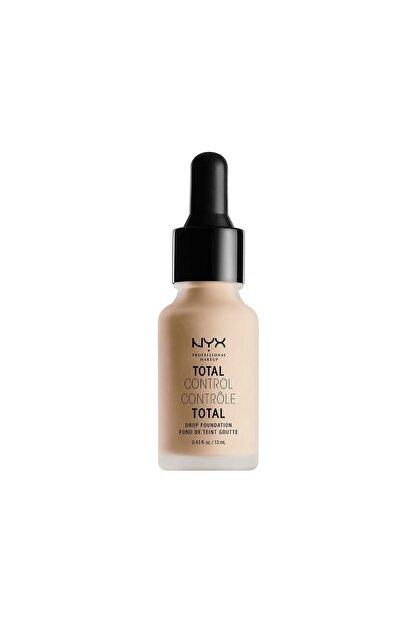 NYX Professional Makeup Mat Fondöten - Total Control Drop Foundation Vanilla 800897068790