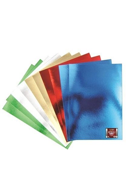 Ofica Nova Color 50x70 Aynalı Karton 5 Renk 10'lu Paket