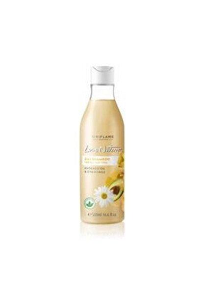 Oriflame Love Nature Love Nature Tüm Saçlar Için Avokado Yağı Ve Papatya Yağı Özlü Şampuan 8681541007462rhb