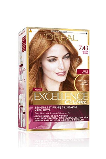 L'Oreal Paris Excellence Saç Boyası -7.43 Sultan Bakırı