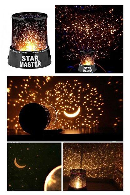 Keyfi Sepet Yıldız Yansıtan Star Master Gece Lambası