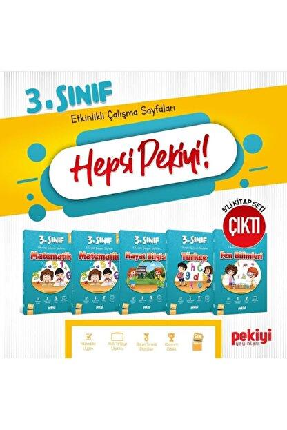 Sinerji Pekiyi Yayınları 3. Sınıf Set