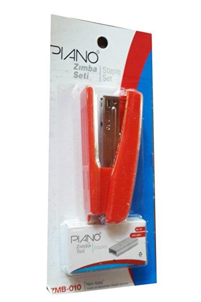 Piano Pıano Zımba Makinesi No:10 + Zımba Teli Seti - Kırmızı