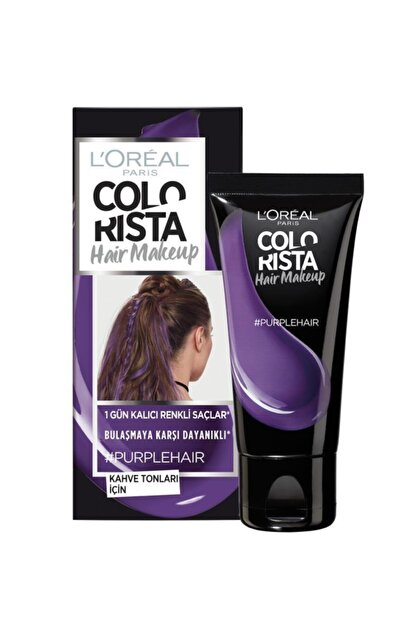 L'Oreal Paris Paris Colorista Hair Makeup Purple