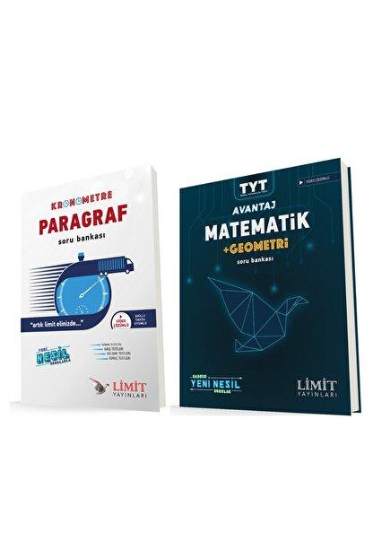 Limit Yayınları Kronometre Paragraf ve Avantaj Matematik Geometri Soru Bankası Seti