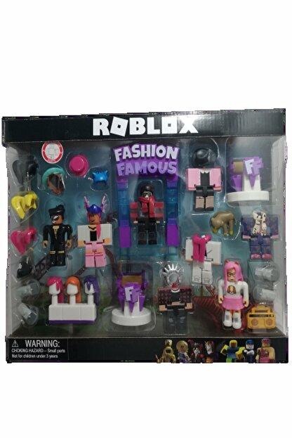 Roblox Fashıon Buyuk Kutu Oyuncak Seti 24 Parçalı