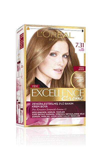 L'Oreal Paris Excellence Creme Saç Boyası 7.31 Bal Peteği