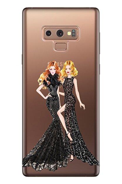 Cekuonline Samsung Galaxy Note 9 Tıpalı Kamera Korumalı Silikon Kılıf - Gossip