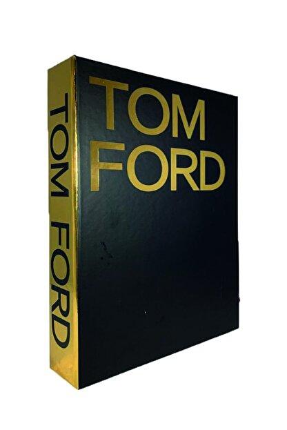 LYN HOME & DECOR Tom Ford Siyah Gold Varaklı