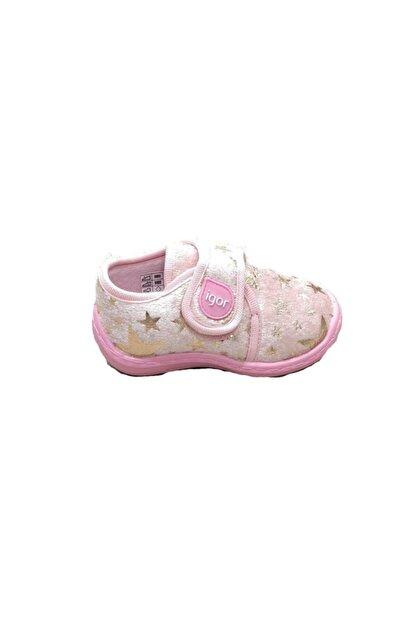 Vigor Kız Bebek Pembe Spor Panduf Okul Ev Ayakkabısı W20118