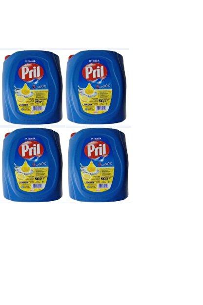 Pril 4 Adet 5 kg Limonlu Bulaşık Deterjanı