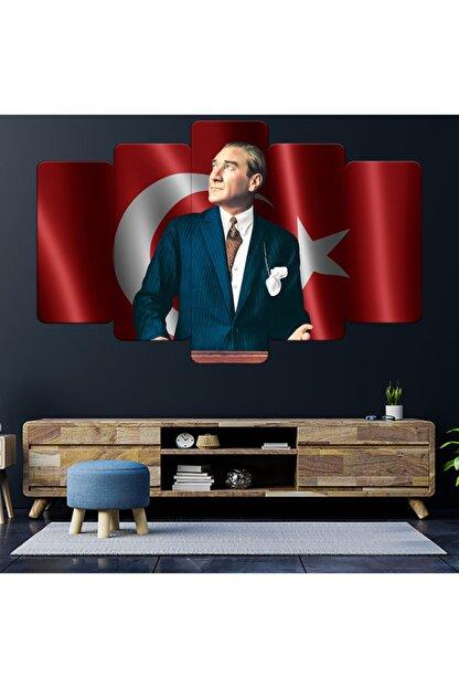 Zevahir Mobilya Dekorasyon Zevahir Mdf Atatürk Baş Öğretmen Bayrak Tablo