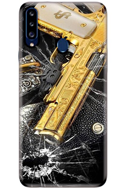 Turkiyecepaksesuar Samsung Galaxy M40 Kılıf Silikon Baskılı Desenli Arka Kapak