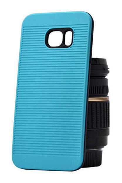 Dijimedia Samsung Galaxy S7 Kılıf Tırtıklı Sert Telefon Kılıfı ve Ekran Koruyucu