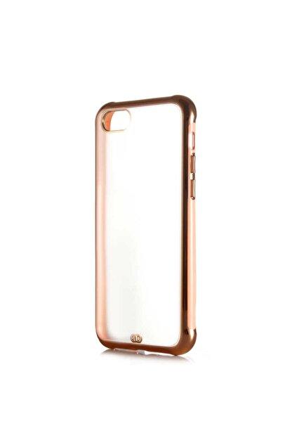 Nokta Apple Iphone 7 Arkası Şeffaf Mat Sert Renkli Plastik  Kılıf ve Ekran Koruyucu