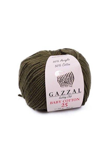 Gazzal Baby Cotton 25 El Örgü Ipi 25 Gr 3463