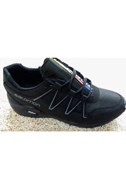 Atlas Erkek Siyah Spor Ayakkabı