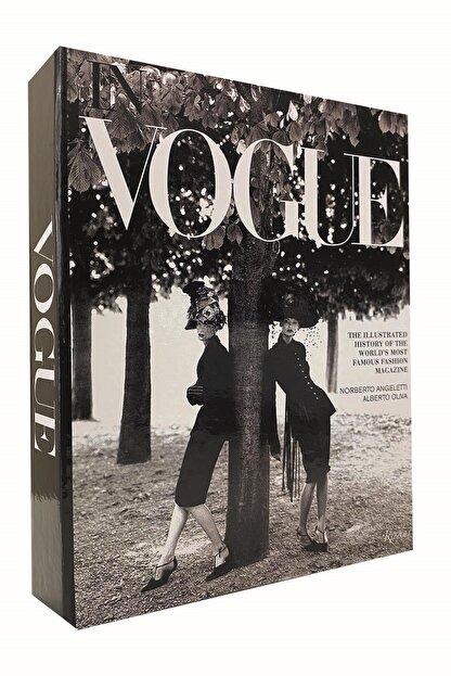 LYN HOME & DECOR Vouge Kadınlar Dekoratif Kitap Kutu