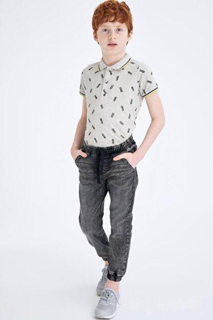 Defacto Erkek Çocuk Gri Kot Pantolon