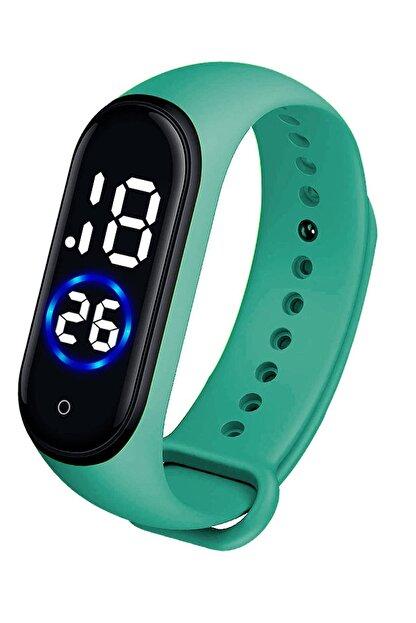 Spectrum Unisex Yeşil Dokunmatik Kol Saati Xt250263