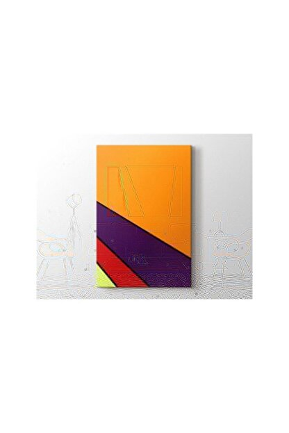 2645 Sanat Olle Baertling - Irux Tablo 60 X 80 Cm