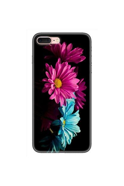 albatech Apple Iphone 8 Plus Çiçek Desenli Kapak Kılıf