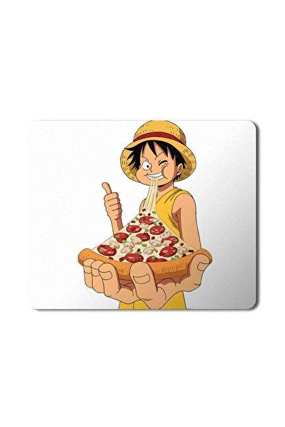 MET DESİGN One Piece Monkey Luffy Roronoa Zoro Pizza Mouse Pad Mousepad