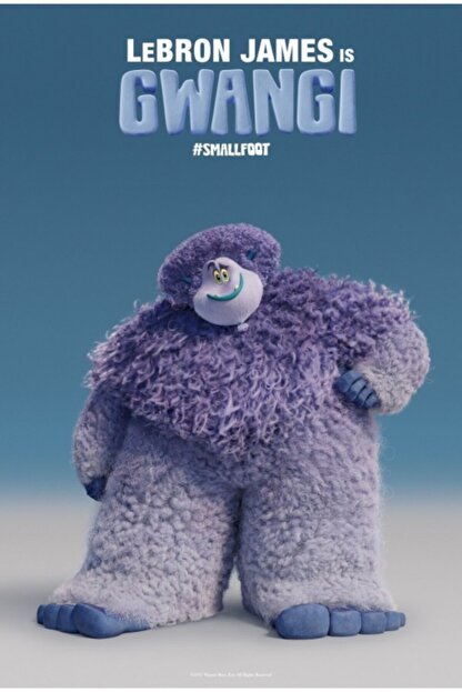 AKTÜEL POSTER Smallfoot (2018) 50 X 70 Poster Caltoget