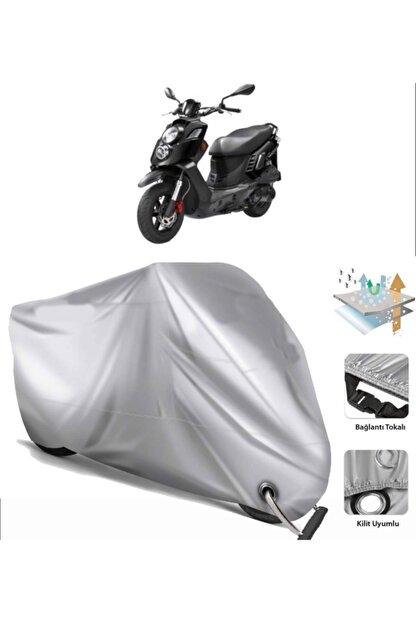 CoverPlus Pgo B2-50 Motosiklet Brandası (bağlantı Ve Kilit Uyumlu)