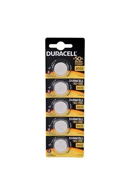 Duracell Düğme Pil 2032 5'li Paket 3 Volt