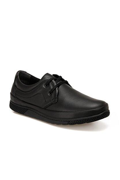 Polaris 160280.m Siyah Erkek Ayakkabı
