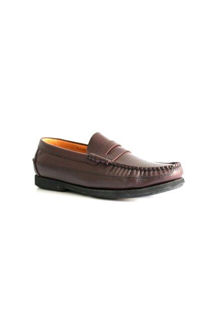 Beta Shoes Erkek Bordo Deri Ayakkabı