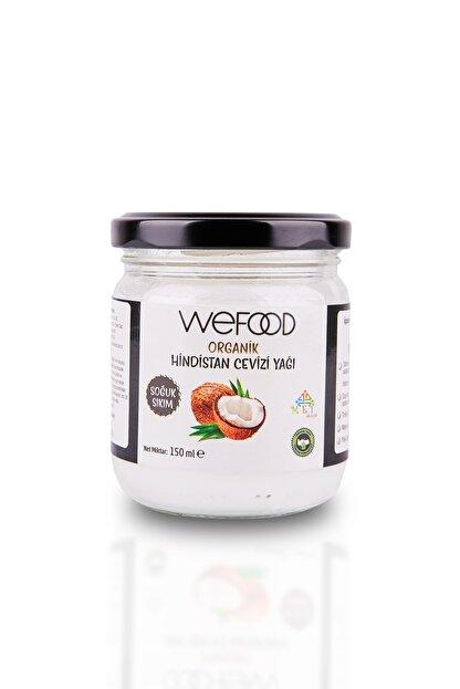 Wefood Organik Hindistan Cevizi Yağı 150 ml (Soğuk Sıkım)