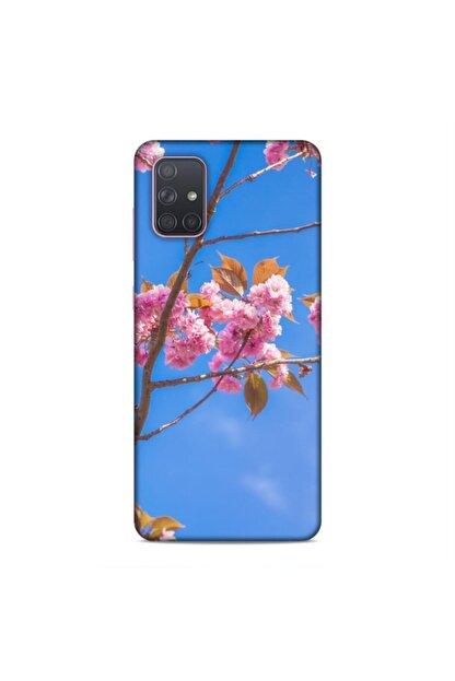 Pickcase Samsung Galaxy A71 Desenli Arka Kapak Dadio Çiçek Kılıf